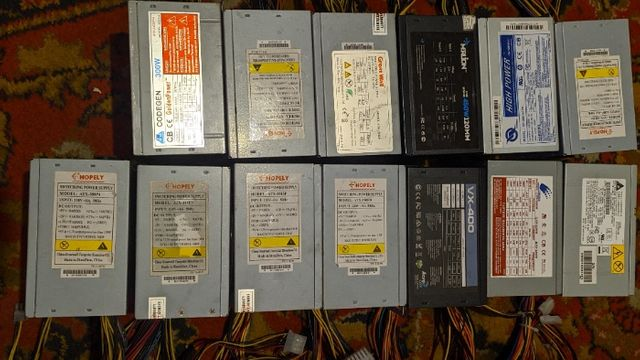 Блок питания 250W, 300W, 350W, 400W, 450W, 380W