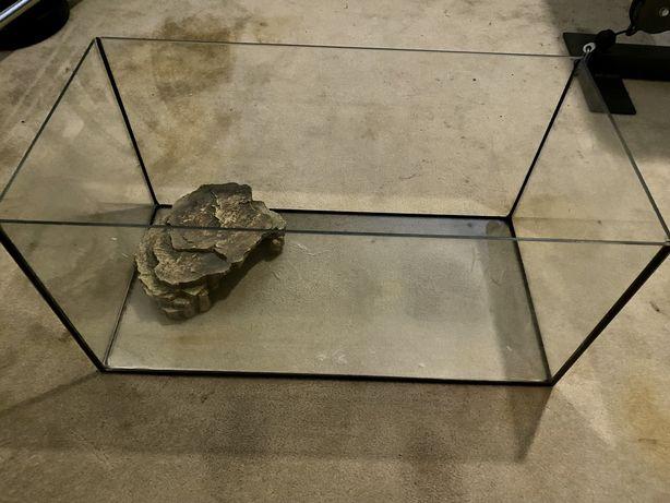 Akwarium dla żółwia 30x 30x60 + akcesoria
