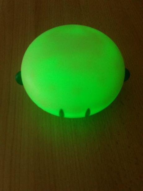 Lampka led zielona akumulatorowo sieciowa