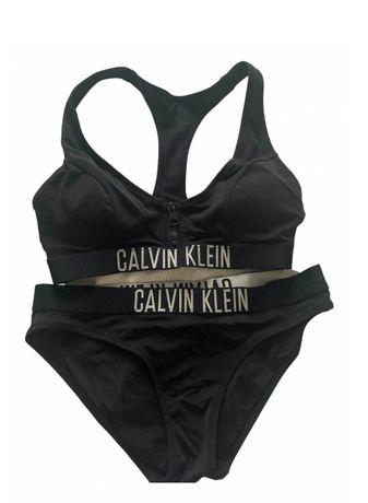 Calvin Klein CK kostium strój kąpielowy bikini rozmiar S