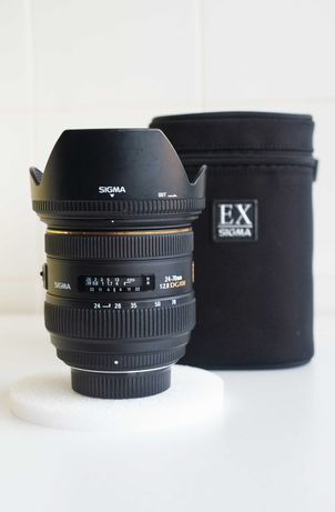 Lente Sigma 24-70mm HSM 2.8 P/ Nikon