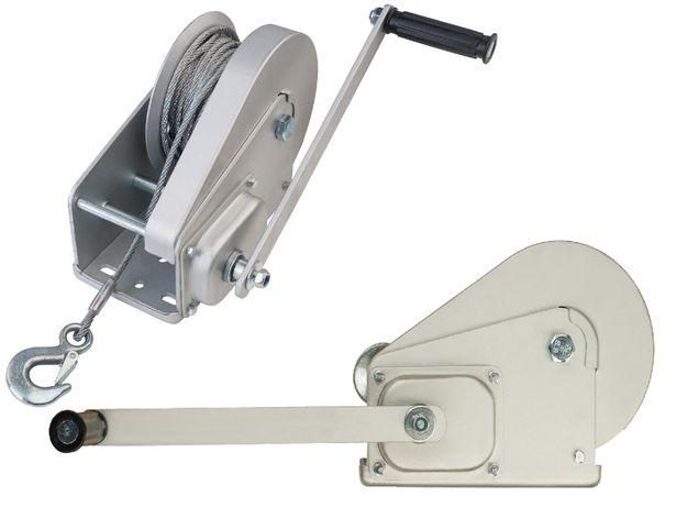 Wciągarka Ręczna Linowa Wyciągarka z Hamulcem 1200 kg