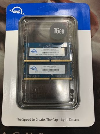 Продам память SO-Dimm OWC DDR4-2666 Kit 16gb(8gb/2).