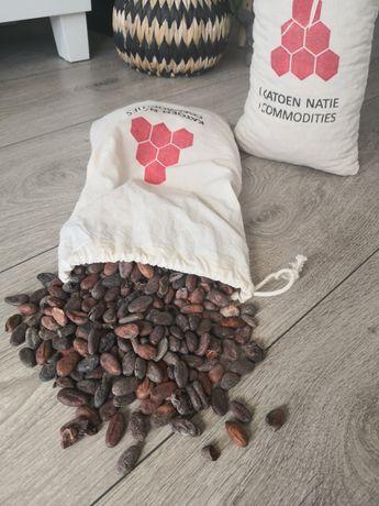 Surowe ziarno kakao
