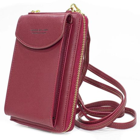 Женский портмоне, кошелек, клатч, сумка Baellerry Forever N8591 RED