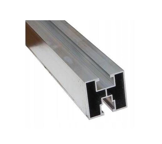 Profil aluminiowy do montażu fotowoltaiki 40x40, PV szyna 6,21m