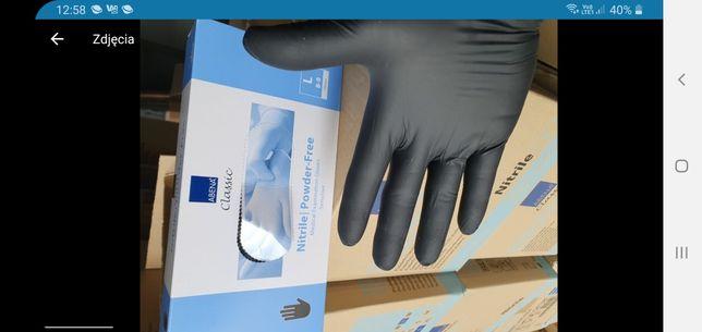 Rękawiczki nitrylowe jednorazowe
