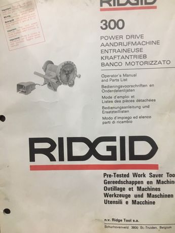 Продам станок RIDGID 300