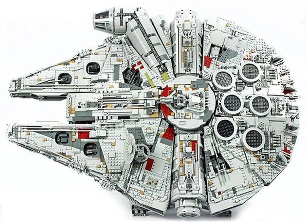 Klocki Lepin Star Wars UCS Falcon Millennium 8445 klocków