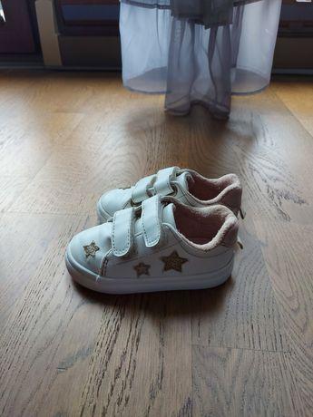 Buty trampki h&m 20/21 białe