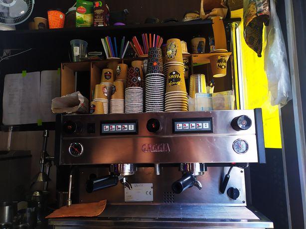 Gaggia кофемашина 2 группы