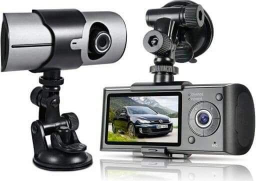 Wideorejestrator R300 2 Kamery przód tył Dual GPS G-Sensor