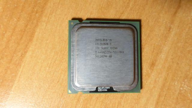 Процессор Intel Pentium 4, Celeron Socket 775