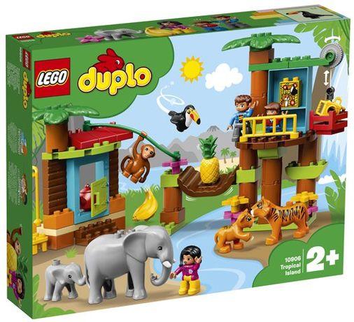 Klocki LEGO Duplo - Tropikalna wyspa 10906