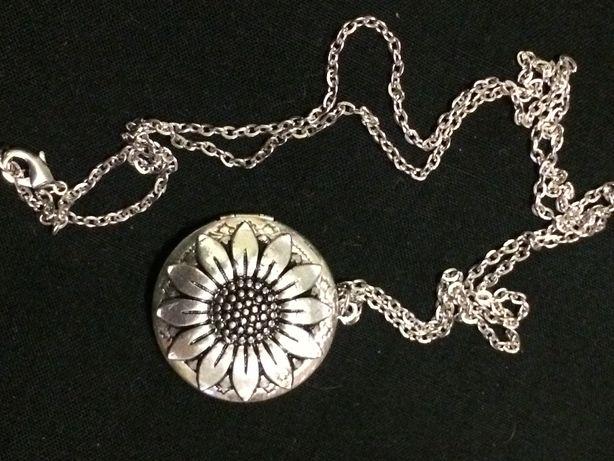 Кулон, медальон на цепочке для фото или аромата