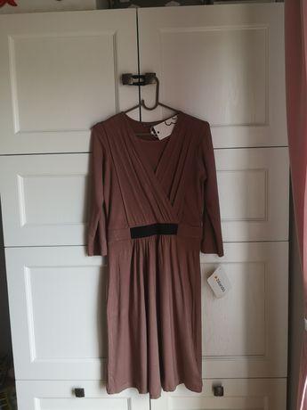 Nowa piękna sukienka Mint&Berry, rozmiar S, wiskoza