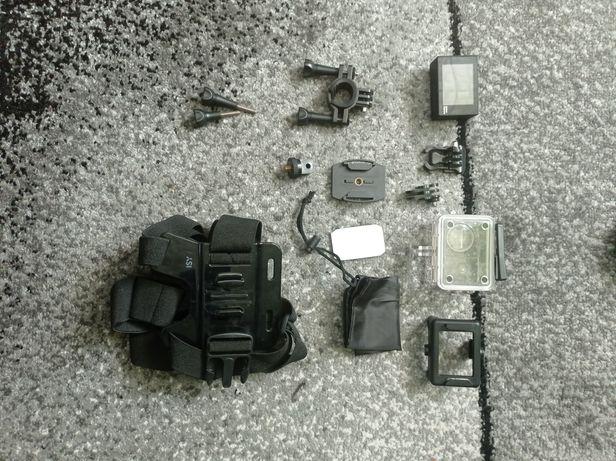 kamerka sportowa z akcesoriami   możliwa wysyłk
