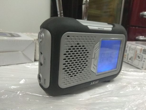 Радио-часы-градусник на рыбалку (Германия)