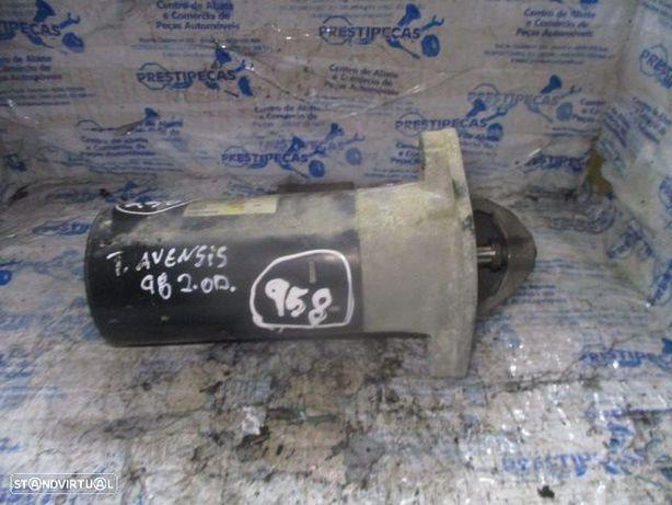 Motor de arranque 0986018680 TOYOTA / AVENSIS / 1998 / 2.0 D /