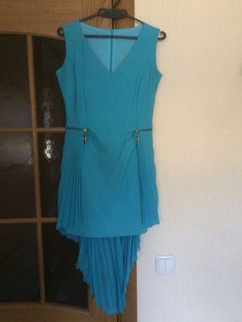 Нарядное платье с шлейфом