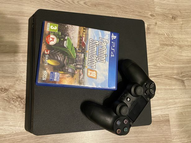 Sony Playstation 4 Slim 500Gb pad Farming Simulator 19 jak nowa