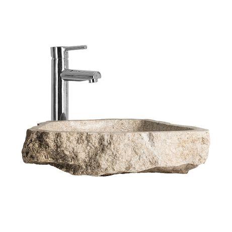 Lavatório Pedra MÁRMORE Stone Sink-NOVO by OVO Home