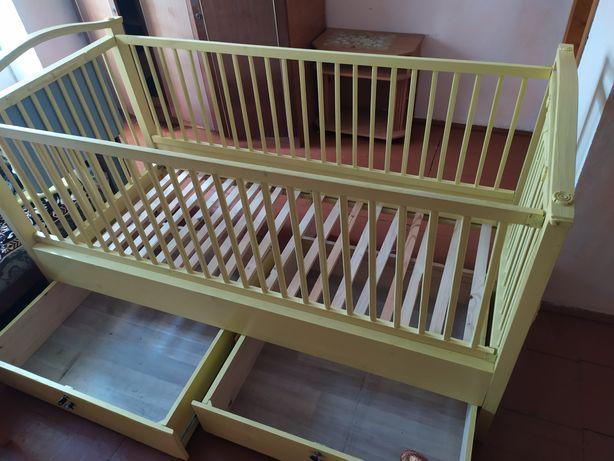 Дитяче ліжечко, ліжко (детская кроватка)