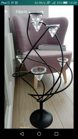 Metaloplastyka- świecznik drzewo na prezent