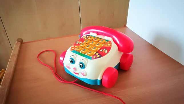 Telefon Fisher Price z podświetlaną klawiaturą - jedyny taki na OLX!