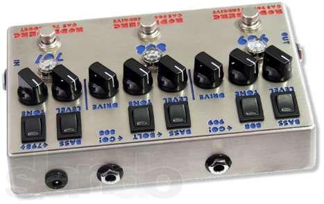 Overdrive-Clean Boost Rodenberg Electronics Custom HandmadeGAS-789NG