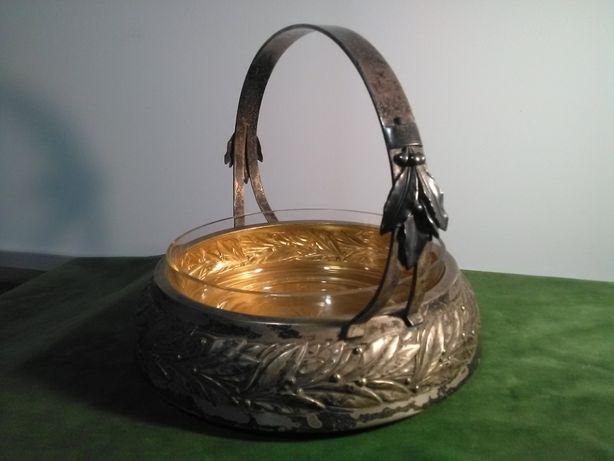Koszyk plater złocony 1915r.