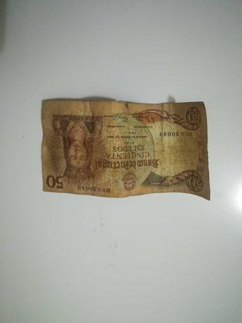 Nota de 50 escudos 1964
