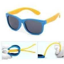 Óculos de sol criança maleáveis