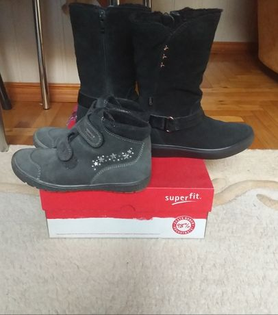 Ботинки сапоги Ecco Richter