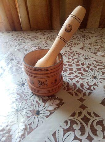 Деревянная ступа Карпаты, кухонные принадлежности, деревянные изделия