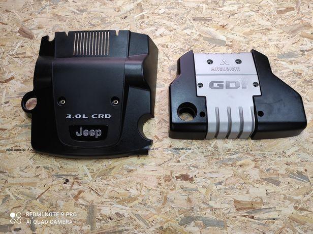 Mitsubishi GDI JEEP Grand Cherokee Wk Osłona Pokrywa Silnika 3.0 CRD