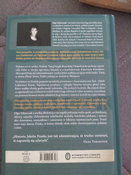 Ksiazka Ksiegi Jakubowe Olga Tokarczuk