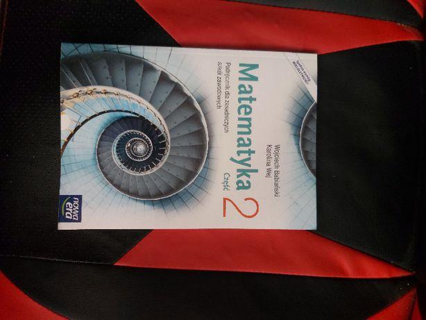 Książka do matematyki klasa II Branżowa