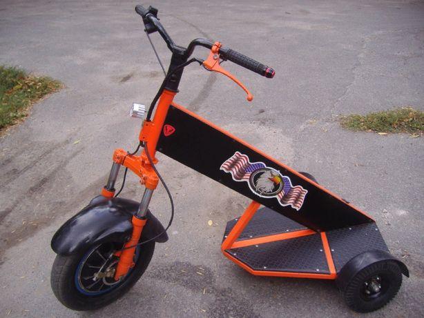 Электроскутер Электросамокат Электровелосипед (мотор-колесо 48v 1000W)
