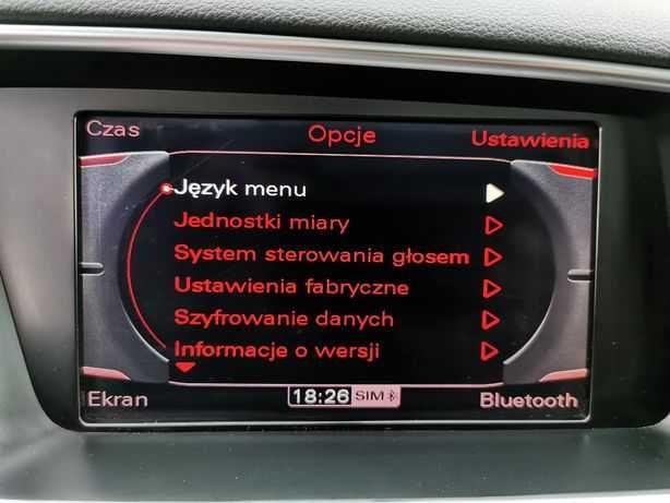 Polskie Menu w fabrycznych nawigacjach samochodowych polski LEKTOR
