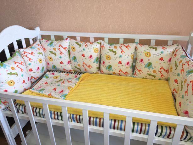 Пошив детского постельного,а также бортиков в кроватку