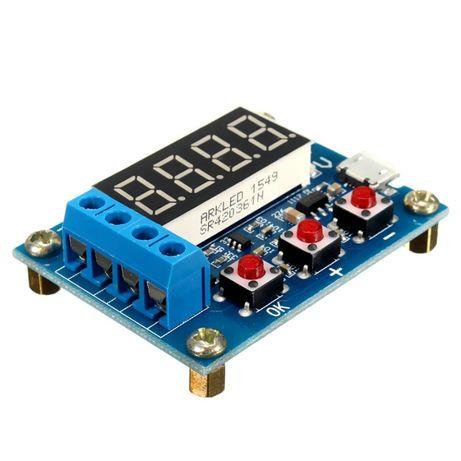 Тестер емкости аккумуляторов батарей HW-586 ZB2L3 18650 Li-ion NiMH Ni