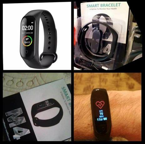 Nowa fitness M4 M5 opaska zegarek Smartband pasek jak Xiaomi Mi Band 5