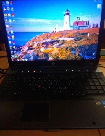 СРОЧНО ПРОДАМ!! Ноутбук HP Elitebook 8740w! Сломанный шлейф к матрице!