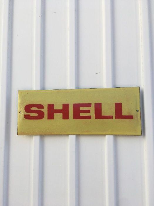 placa/chapa Shell Massamá E Monte Abraão - imagem 1