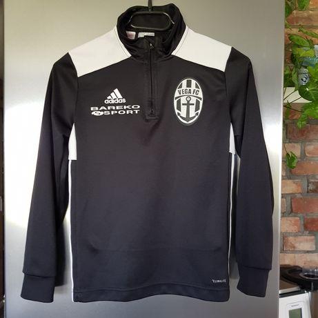 Czarna sportowa bluzka Adidas roz.9-10 lat.