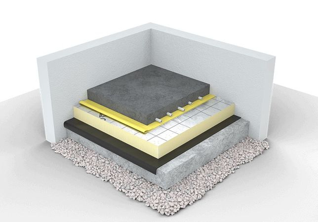 Płyta PIR na ocieplenie posadzki, izolacja pod ogrzewanie podłogowe