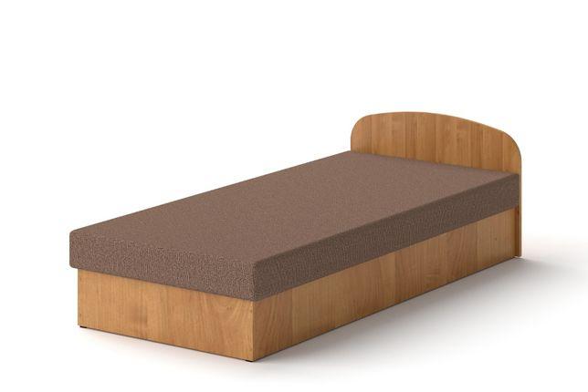 Łóżko hotelowe 90 x 200 Olcha tapczan z materacem