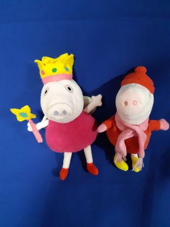 Мягкие игрушки  свинка  Пеппа.