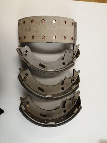 Jogo de maxilas travão Mitsubishi canter FE649 FE659 largura 100mm